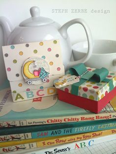 Baby Shower Book Theme and Party Favor. Cute, cute, cute!