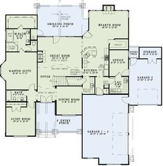 5000 square foot house plans | 5000 Square Feet 4 Bedrooms 2½ ...