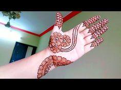 Elegant Arabic Henna Mehndi Design for beginners - Naush Artistica Mehandi Design For Hand, Simple Arabic Mehndi Designs, Mehndi Art Designs, Beautiful Mehndi Design, Mehndi Patterns, Simple Henna, Simple Mehndi Designs, Easy Henna, Dulhan Mehndi Designs
