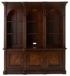 Paula Deen Harrington Bookcase traditional bookcases cabinets and computer armoires
