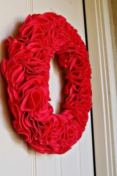 Ruffle Wreath by tiffany.lords