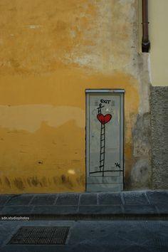 Exit Enter, Borgo Tegolaio, Firenze (Toscana, Italy) - by Silvana, agosto 2014