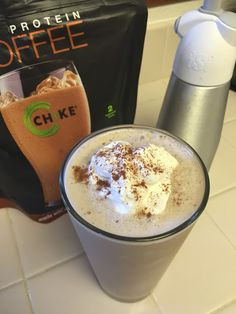 protein shake to lose weight healthy Eggface Protein Shake Recipes: Chocolate Cinnamon Coffee Protein Shake Protein Shake Recipes, Protein Shakes, Smoothie Recipes, Smoothies, Gourmet Recipes, Mexican Food Recipes, Snack Recipes, Healthy Recipes, Healthy Lunches