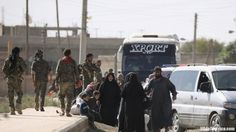 Officials of the U.S.-backed Syrian Democratic Forces (SDF) are dismissing claims they brokered a covert deal with the Islamic State last month to allow safe passage to thousands of besieged IS fighters evacuating from Raqqa, the de facto capital of the so-called Islamic State in northern Syria.  #MiddleEast