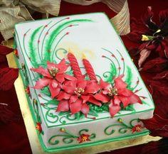 Holiday cake idea