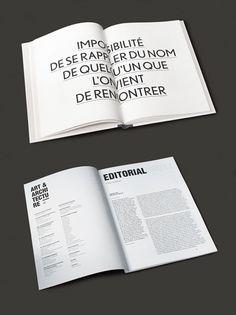 andré kertész catalogue editorial print magazine book design