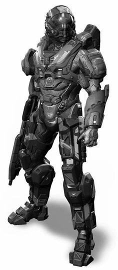 Combat Suit, Combat Armor, Halo Tattoo, Warrior Images, Tactical Armor, Ninja Art, Futuristic Armour, Tech Art, Sci Fi Armor