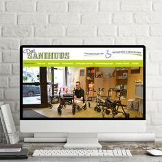 """Klarheit und Kompetenz durch neuen Webauftritt  Für """"Dat Sanihuus"""", mit Filialen in Emden und Norden, haben wir einen konzeptionellen Re-Launch der Homepage umgesetzt.  Seit über 25 Jahren ist """"Dat Sanihuus"""" in der Hilfsmittelversorgung zuhause.  Basierend auf dem Joomla-Redaktionssystem ist ein Auftritt entstanden, der Klarheit und Kompetenz vermittelt. Sehr passend für """"Dat Sanihuus"""".   Homepage: www.datsanihuus.de  #deich8 #cms #design #emden #joomla #wordpress #drupal #nordic #opensource… Drupal, Flat Screen, Wordpress, Electronics, Design, First Aid, Ad Home, Blood Plasma"""
