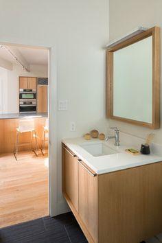 Langley-Hawthorne Residence - Midcentury - Powder Room - Denver - Design Platform