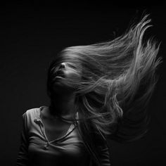 Flowing Hair series by Marc Larouche