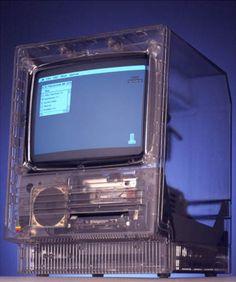 Translucent Macintosh SE (circa 1987)