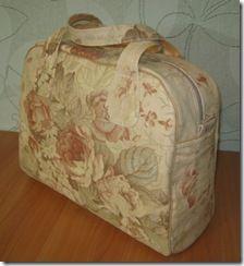 Мастер-класс. Чумодан, саквояж, портфель? или Просто льняная сумочка!