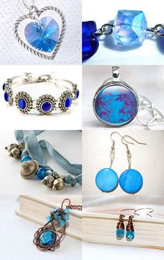 Beachy Blue Jewelry- Different Shades of Blue