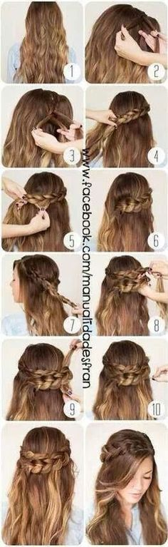 perfect for the fall. gourgous boho hair