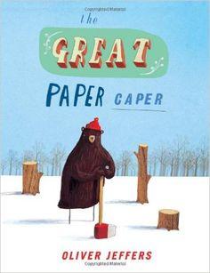 The Great Paper Caper: Amazon.co.uk: Oliver Jeffers: 9780007182336: Books