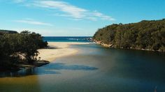 Wattamolla Creek / Royal National Park, just 29km south of Sydney's centre.