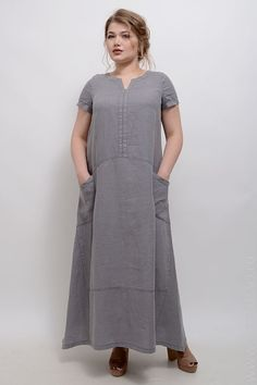 Платье Дестини Mature Fashion, Plus Size Fashion, Boho Fashion, Fashion Dresses, Modele Hijab, Kurta Designs, Linen Dresses, Plus Size Blouses, Simple Dresses
