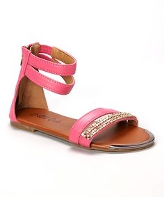 Look at this Fuchsia Julia Gladiator Sandal on #zulily today!