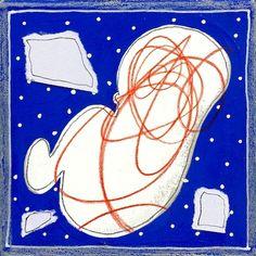 Andrea Mattiello www.livinart.it Serie RI-NASCITA - Sospeso - acrilico, grafite e collage su cartone vegetale cm 20x20 PICCOLE OPERE DI GRANDE SIGNIFICATO Il filo conduttore di questa serie di opere è legato al tema della nascita intesa come crescita, evoluzione ed acquisizione di consapevolezza