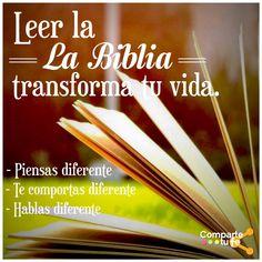 Es imposible estar expuesto a la Palabra de Dios sin que al menos un área de tu vida sea transformada. #ComparteTuFe