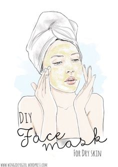 How's the day treating you so far? Now is the time of the year when your skin tends to get dry the most. Personally, I prefer using natural products for my skin, I'm sure many of… Beauty Quotes, Beauty Art, Beauty Skin, Studio Hair, Mask For Dry Skin, Honey Face Mask, Images Esthétiques, Coconut Oil For Face, Image Blog