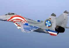 MiG-29 fighter jet military russian airplane plane mig (27) wallpaper