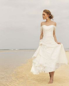 wedding dresses sundress style