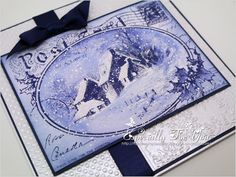 Especially For You: Anything Goes at Papertake Weekly - isn't this version of our #Stampendous Snowy Postcard just yummy?