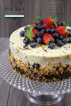 Maková torta bez múky - Poppy Seed Cake without Flour Healthy Cookies, Healthy Dessert Recipes, Healthy Baking, Cake Recipes, Slovak Recipes, Cake & Co, Sweet Cakes, Pretty Cakes, No Bake Cake