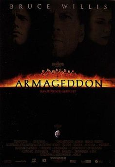 Armageddon Movie Poster - Internet Movie Poster Awards Gallery