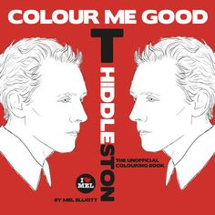 The Colour Me Good Tom Hiddleston Book is the Latest Addition #coloring trendhunter.com