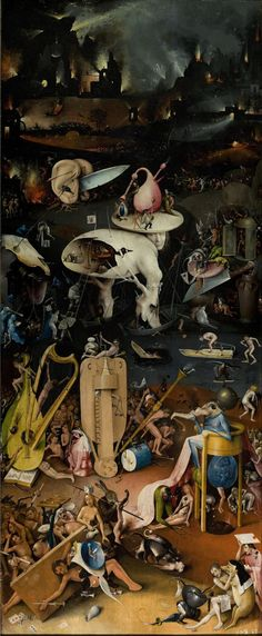 Before Salvador Dali there was this amazing painter.. Hundreds and hundreds of years ago