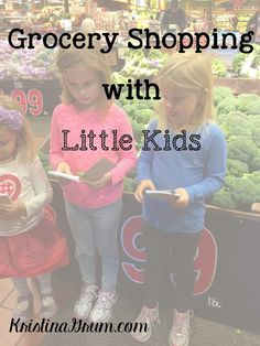 The grocery store can be a fun place to go. I love wandering through the store and finding new products. I like to read the labels to make sure I know what's in products. I like smelling my produce before Ipick it so that I can make sure it's fresh. And I especially love taking...