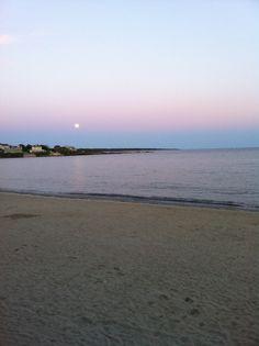 Sunset at Bonnet Shores Beach Club in Narragansett