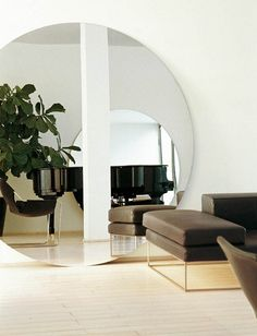 Open up your space with a cool mirror