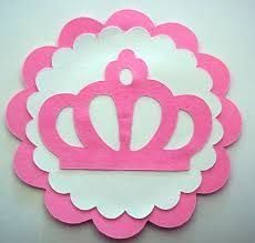 Resultado de imagem para MOLDE DE COROAS PEQUENAS 1st Birthday Princess, My Princess, Princess Party, Holidays And Events, Patches, Birthday Parties, Clip Art, Glitter, Disney