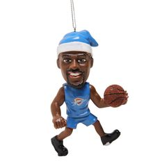 Oklahoma City Thunder Kevin Durant Elf Ornament