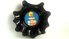 Corbeille de cuisine , design et rétro , série For me K , upcycling de disques vinyles : Accessoires de maison par vnealstory