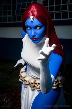 Character: Mystique (Raven Darkhölme) / From: MARVEL Comics 'The Uncanny X-Men'…