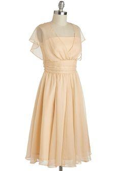 Chiffon!   Patio Reception Dress