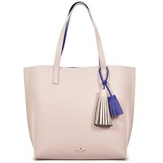 Kate Spade New York Foster Court Tasha Pebbled Leather Tote Bag PebbleLapis ** Details can be found by clicking on the image.Note:It is affiliate link to Amazon.