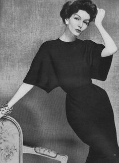 Joanna McCormick, March Vogue 1957
