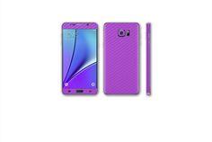 Galaxy Note 5, Carbon Fiber, Samsung Galaxy, Kit, Iphone, Purple, Viola