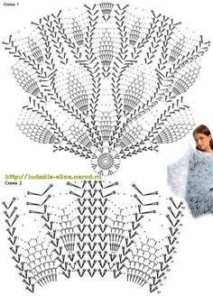 Delicadezas en crochet Gabriela: Sombrilla esquemas en crochet