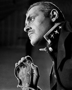 Anthony #Hopkins takes over the role of sentry from Olivier following his illness in August Strindberg's The Dance of Death. National #Theatre, London. 1967