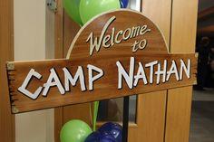 www.tieabowdallas.com Camp Theme Bar Mitzvah Dallas, Texas