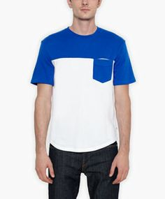Premium Goods Pocket Tee - Surf Blue - Levi's - levi.com