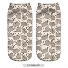 New 3D Printed Pusheen Burger Women Socks Cute Low Cut Ankle Sock Multiple Cartons Fashion Style CNW10-in Socks from Women's Clothing & Accessories on Aliexpress.com | Alibaba Group
