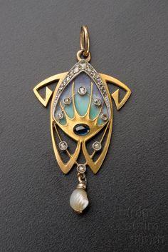 Jewellery by Alphonse Mucha, 1900 Museum of Decorative Arts in Prague