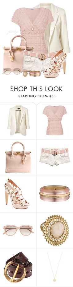 """Monochromatic Short Story"" by rockreborn ❤ liked on Polyvore featuring Retrò, Kaliko, Hollister Co., L.A.M.B., Alexis Bittar, Witchery, Lisa Stewart, Johnny Farah, Jamie Wolf and Carla Amorim"